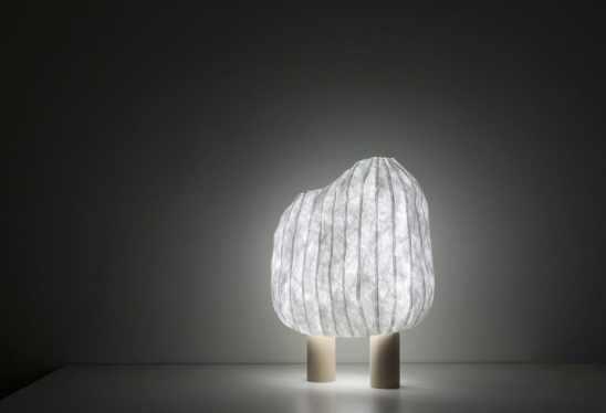lampe Forêt illuminée