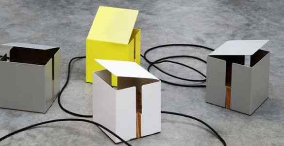 Box Light lampe table UP