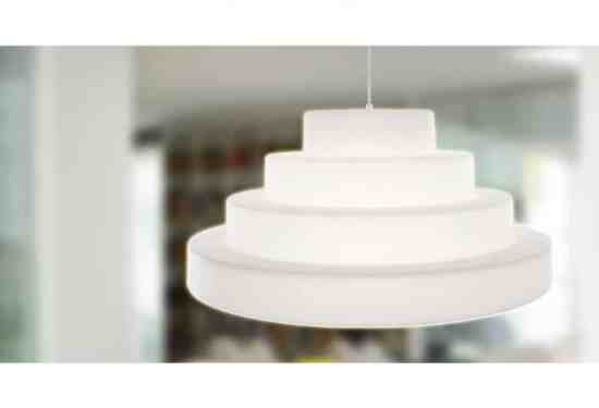 Suspension design - La suspension Cake by Eero Aarnio
