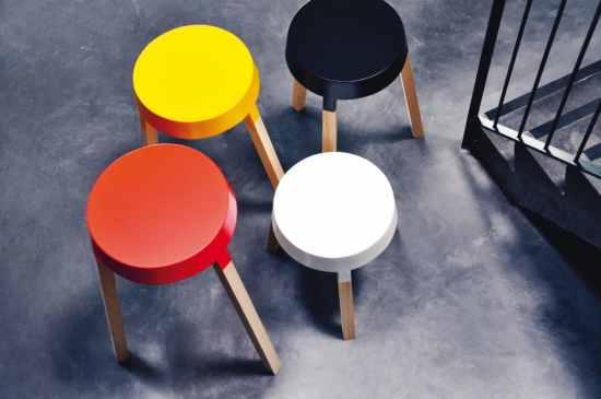 Les tables d'appoint bXL by Benoît Deneufbourg