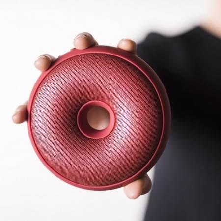 Enceintes design -Hoop de Lexon