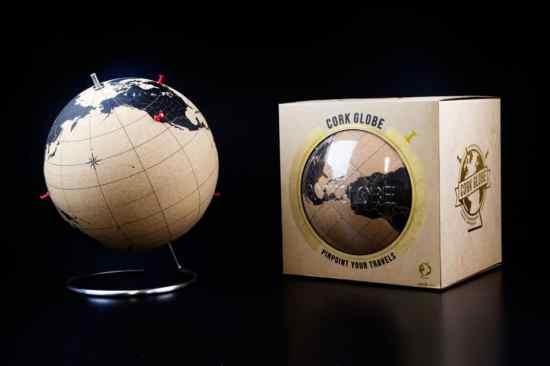 Cork Glob globe en liège