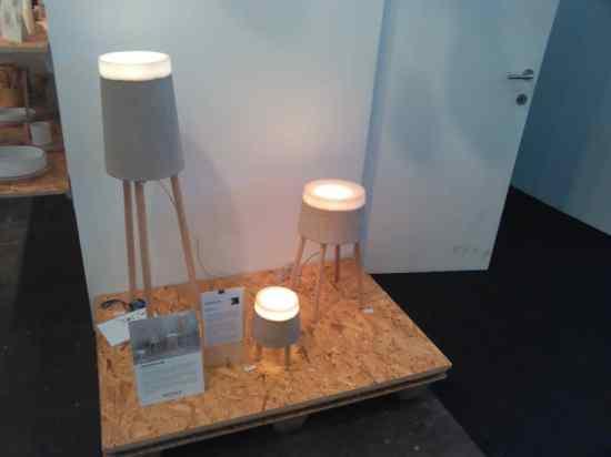 Concrete Lamp Renate Vos