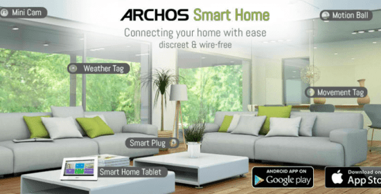 domotique Smart Home ARCHOS