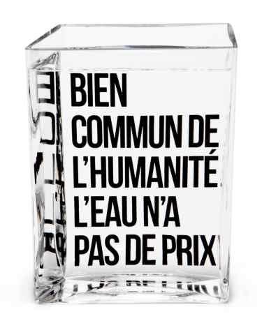 La carafe La Lame d'Eau de Philippe Starck