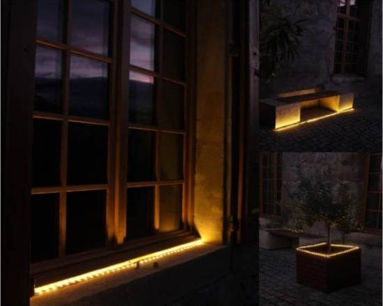 décoration solaire Ruban LED Solaire