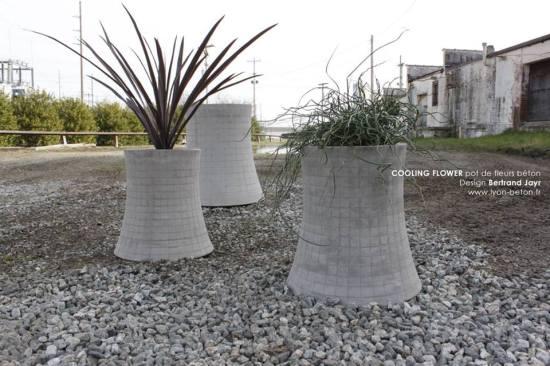 pot de fleur Nuclear Plant Bertrand Jayr