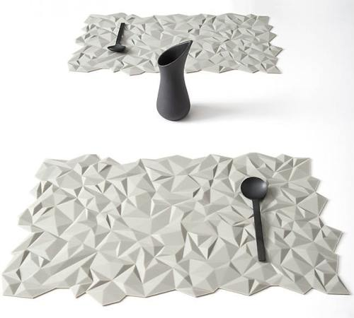 set de table Facet Finell