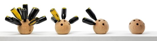 Porte-bouteilles design Winebowl Cory Grosser