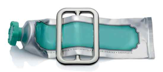 alessi Presse-tube Buckle