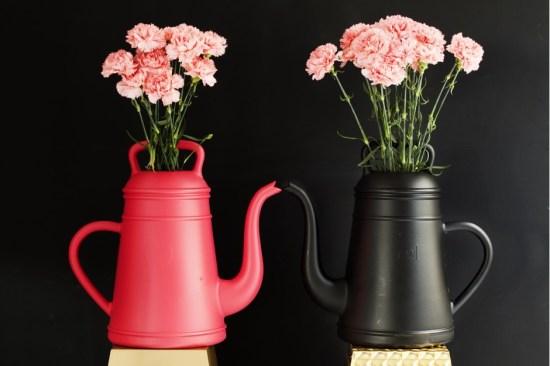 Les arrosoirs design Butler et Lungo by Xala