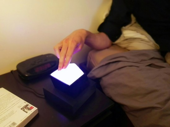 MOW - La première lampe à recharge sans fil par induction