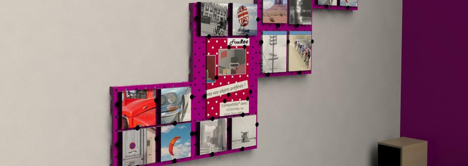 freerac cadre mural personnalisable