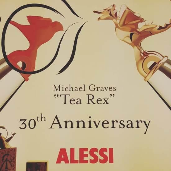 Alessi sifflet bouilloir Tea Rex Michel Graves