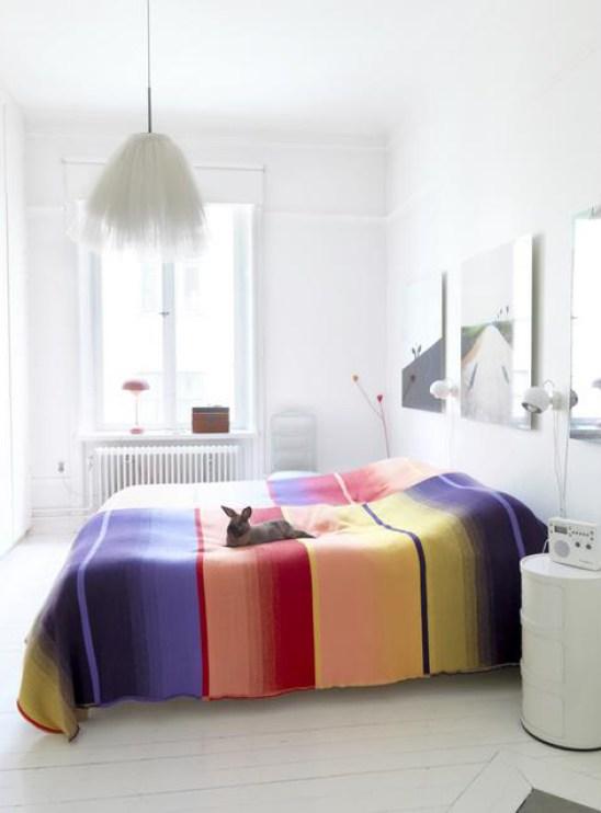 Une décoration colorée en quelques minutes
