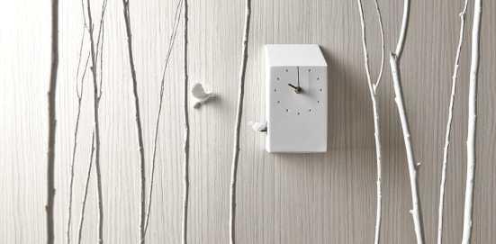 Haoshi design horloge à coucou Cuckoo X