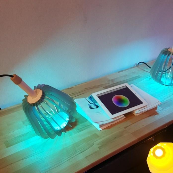 Puzzle Lab NoDesign lampe connectee Houat