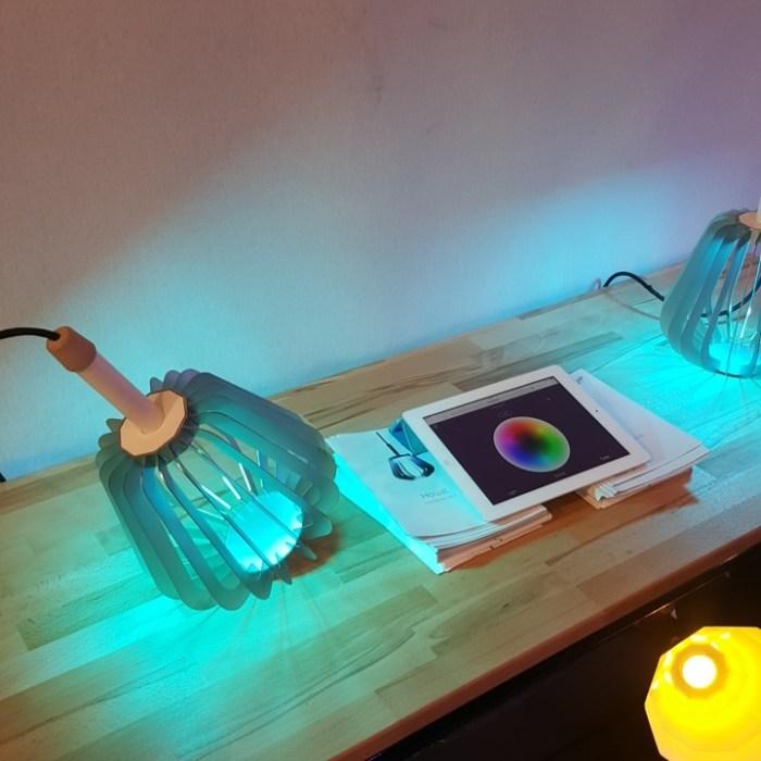 Lampes connectées : La lampe connectée Houat by Puzzle Lab 1