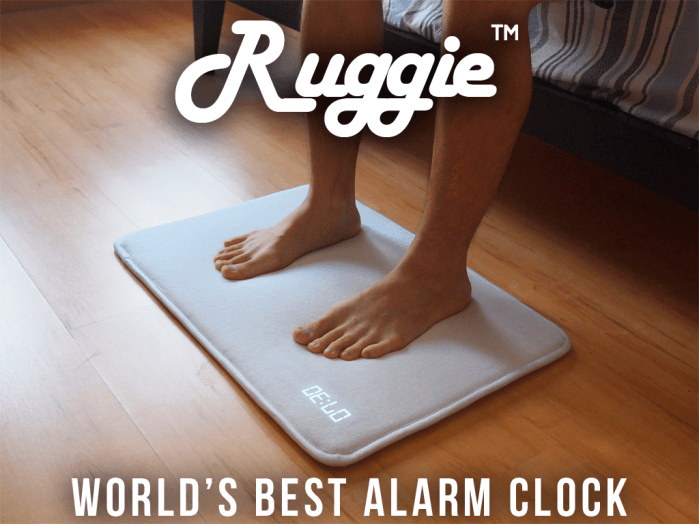 Ruggie reéveil intelligent tapis