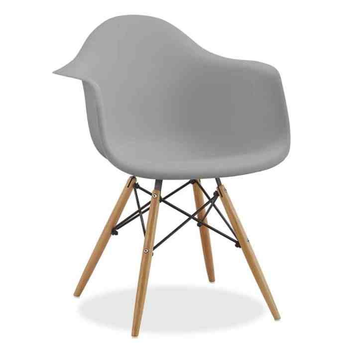 chaises icones du design Daw Charles et Ray Eames superestudio