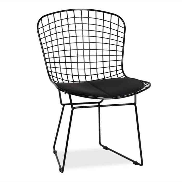 chaises icones du design Harry Bertoia Superestudio