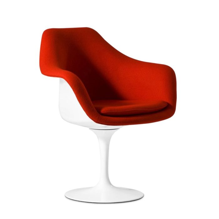 chaises icones du design Tulip Eero Saarinen superestudio