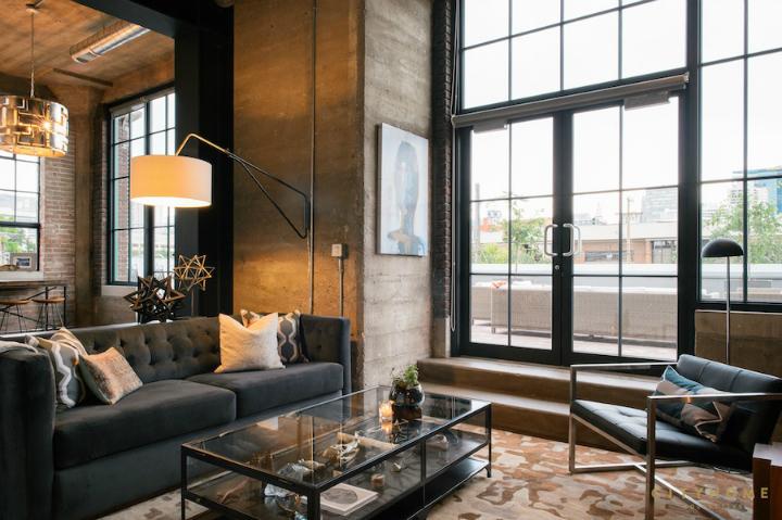 loft industriel gothique City Home Collective