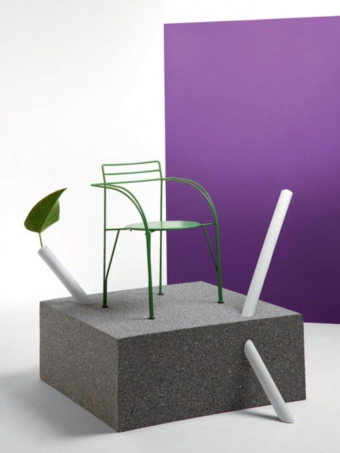 Fermob Idoles fauteuil Lune d'Argent Pascal Mourgue