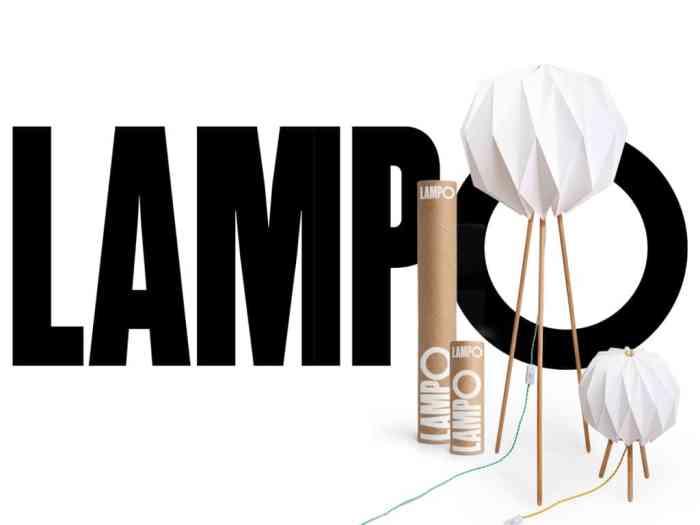 Lampes designs Lampo lampe en papier origami