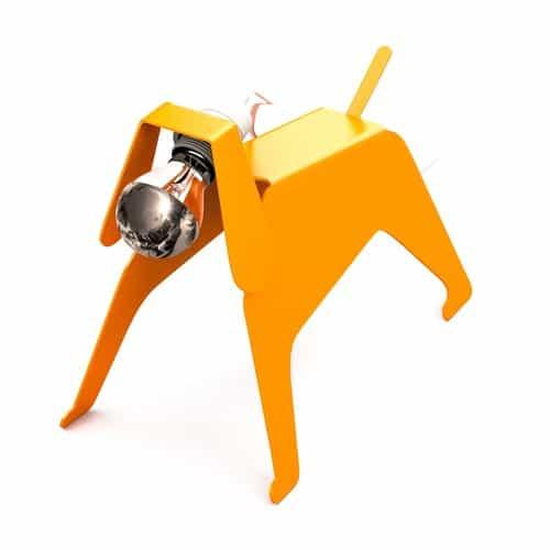 Lampes designs :Moondog de Thomas de Lussac 1