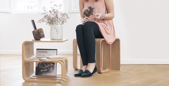 Woodieful meuble multifonction bois