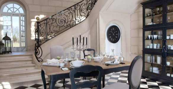 interior's meubles decoration francais