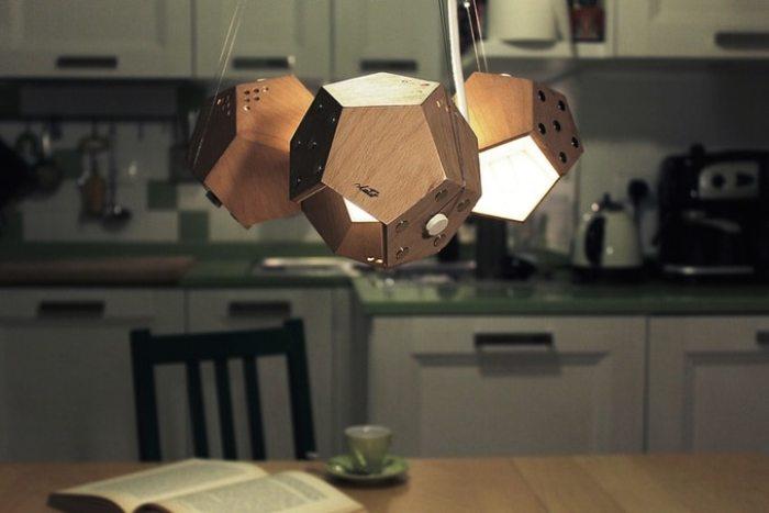 Lampes designs D-Douze lampe modulaire magnétique 3