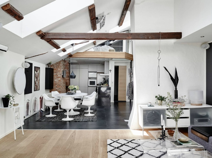 Amnager Un Appartement Mansard En Duplex Deco Tendency