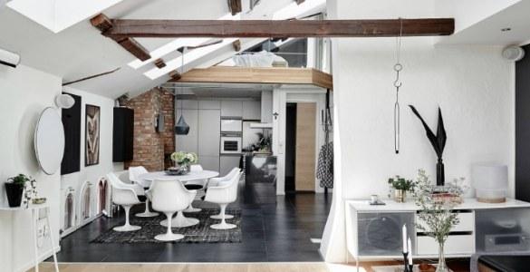 Aménager un appartement mansardé en duplex