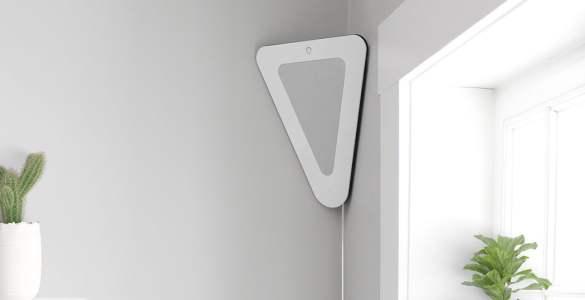 Nepsu Triangle enceinte connectée design