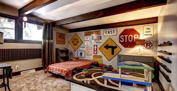 Décorer sa maison avec des panneaux routiers