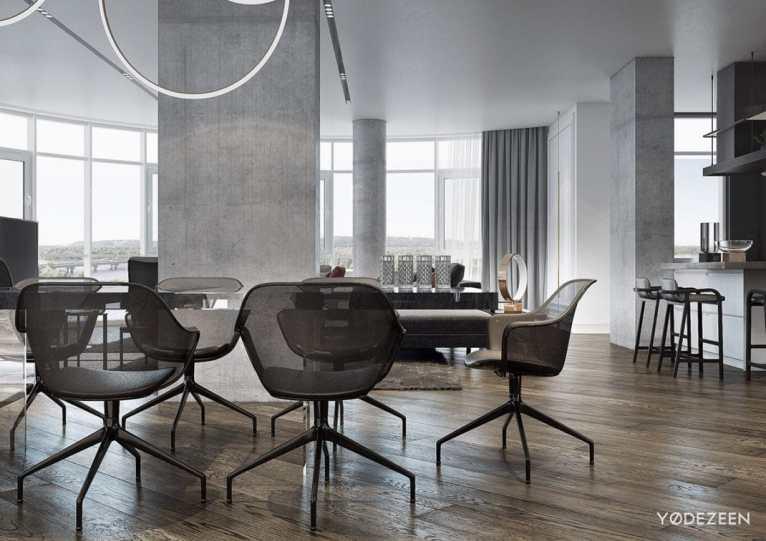 appartement moderne aux légers accents classiques 6