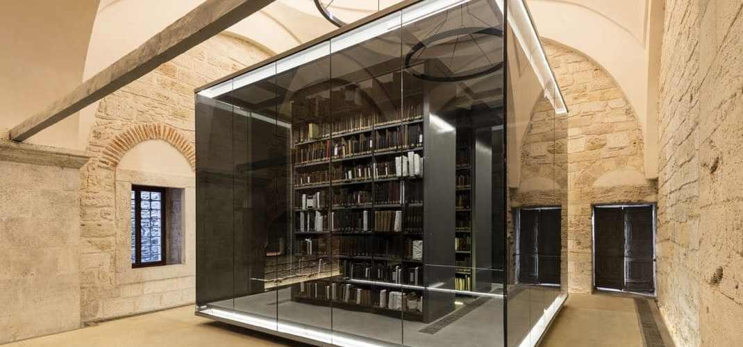 Rénovation bibliothèque publique Beyazit Istanbul