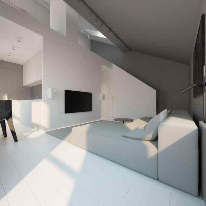 Un décor minimaliste imaginé par Oporski Architektura