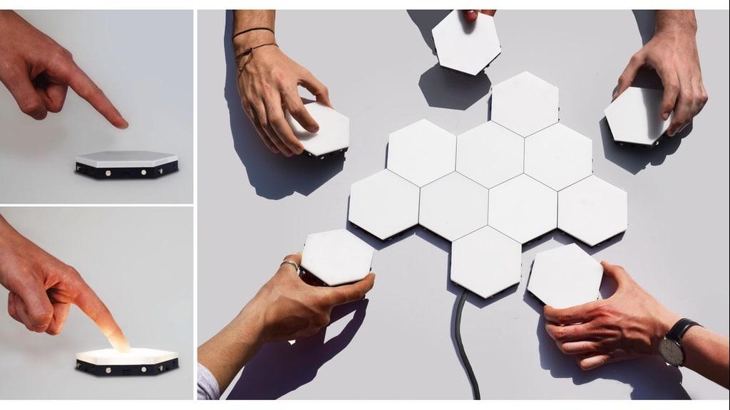 Déco Et TactileBlog Une Helios Applique Design – Modulaire mNvnw80
