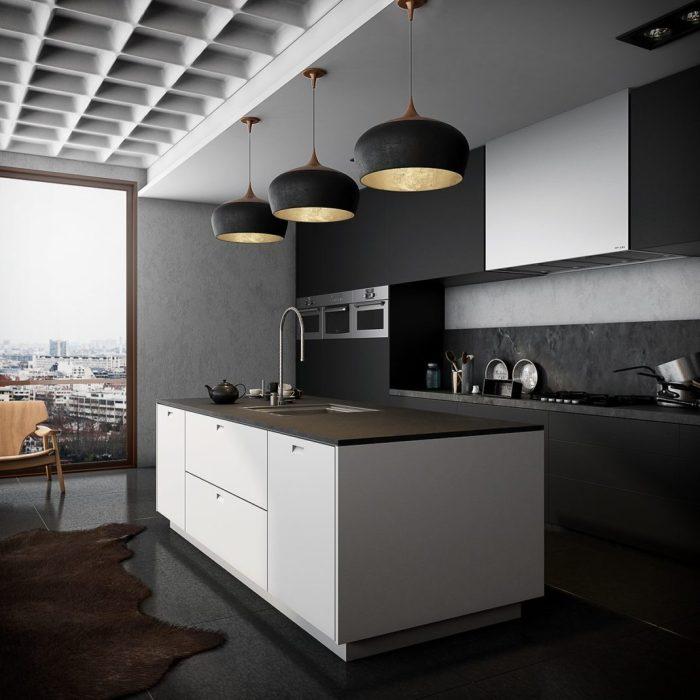 modèle de cuisine design
