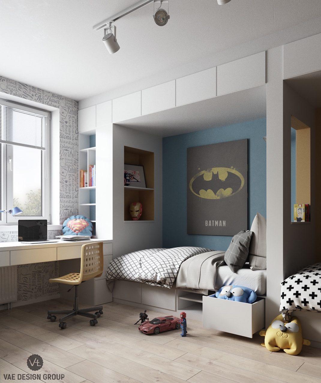 20 chambres d\'enfant à la décoration moderne et colorée