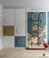 chambres d'enfant à la décoration moderne et colorée