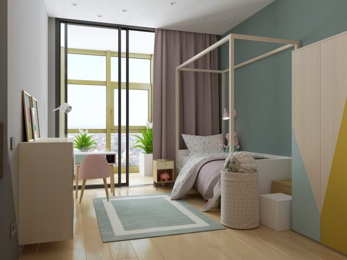 Des chambres d'enfant colorées et éclectiques