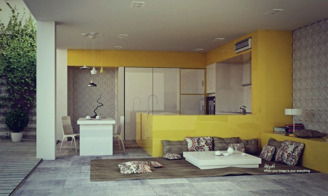 Yellow Kitchens Design