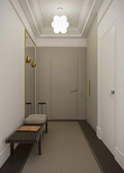 Honey White - Lumière et sophistication moderne dans un appartement de deux chambres 7