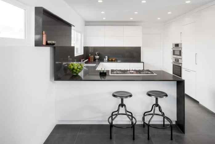 Une cuisine minimaliste imaginée par l'architecte Dan Brunn