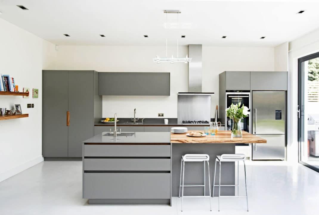 30 cuisines grises et blanches déco et design | Deco Tendency