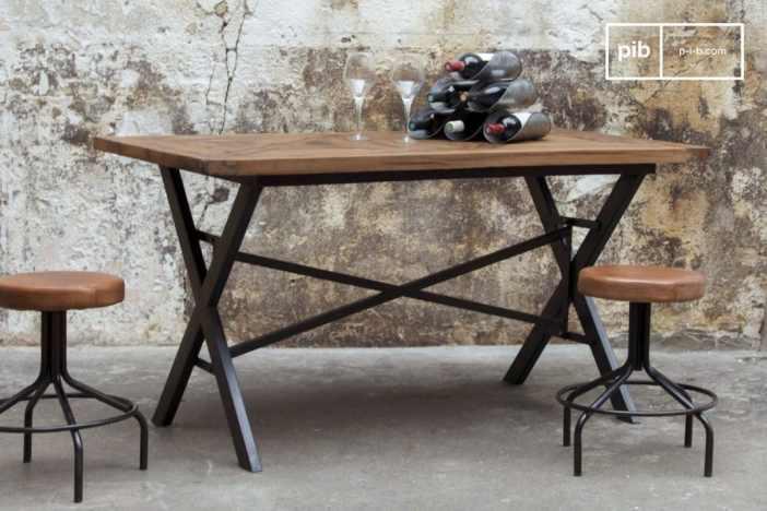 Mobilier industriel les tables de repas